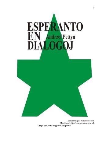 Andrzej Pettyn - Esperanto en dialogoj - JPeregrino