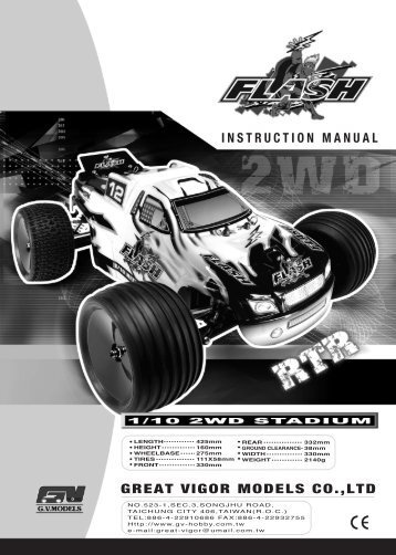 Instruction Manual for the Flash - J Perkins