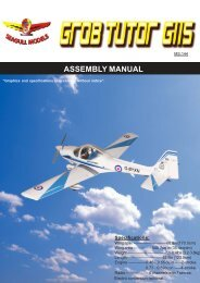 ASSEMBLY MANUAL - seagull models