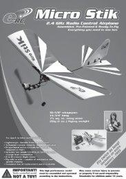 Micro Stik manual - J Perkins