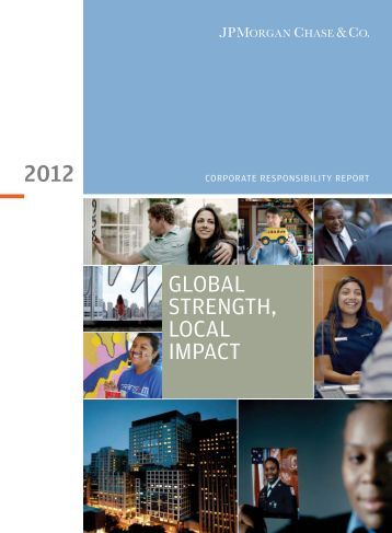 JPMorgan Chase 2012 Corporate Responsibility Report