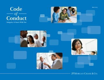 Access the JPMorgan Chase Code of Conduct PDF