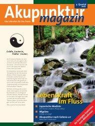 Akupunktur-Magazin - Österreichische Wissenschaftliche ...