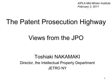 PPH - Japan Patent Office