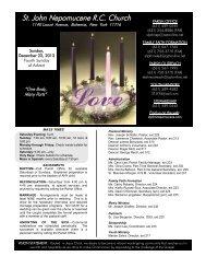 St. John Nepomucene RC Church - John Patrick Publishing Company