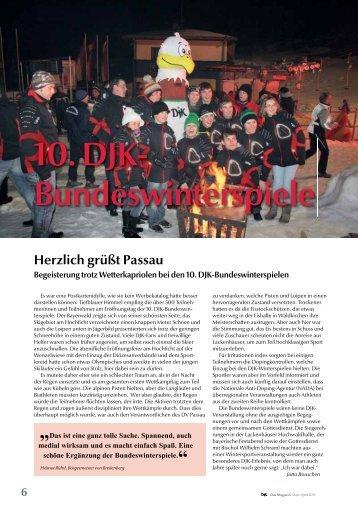 10. DJK- Bundeswinterspiele - DJK Sportverband