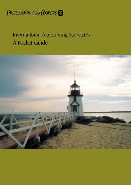 International Accounting Standards A Pocket Guide - JPS