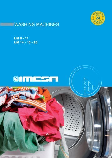 lm 14 – 18 – 23 washing machines - Laundry Equipment