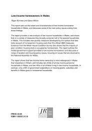 Report - Joseph Rowntree Foundation