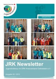 Newsletter 02 / 2013 - JRK Bad Schwartau