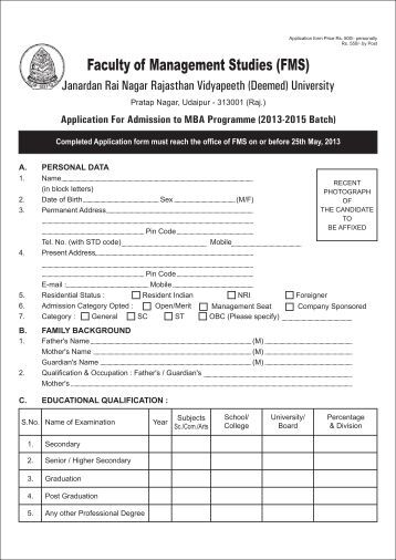Resume for mba admission 2010