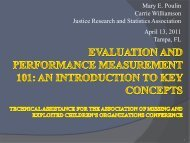Evaluation and Performance Measurement 101: An Introduction to ...