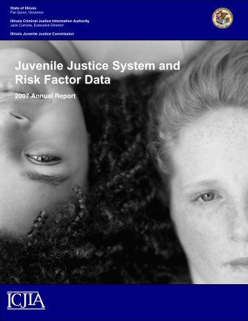 Juvenile Justice System and Risk Factor Data - Illinois Criminal ...