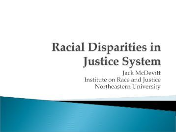 racial disparities in the american criminal Please join the robina institute of criminal law and criminal justice for our next robina in conversation, racial disparities in the criminal justice system three causes of racial disparities in criminal african american offenders reentering the community.