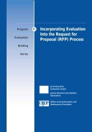 Incorporating Evaluation Into the Request for Proposal (RFP) Process
