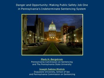 Danger and Opportunity: Making Public Safety Job One in ...