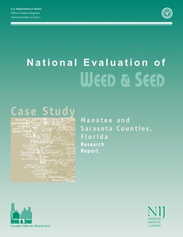 National Evaluation of Weed and Seed Manatee/Sarasota Case Study