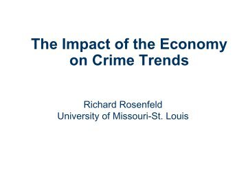 Crime trends since independence and the impact on vulnerable the impact of the economy on crime trends publicscrutiny Gallery