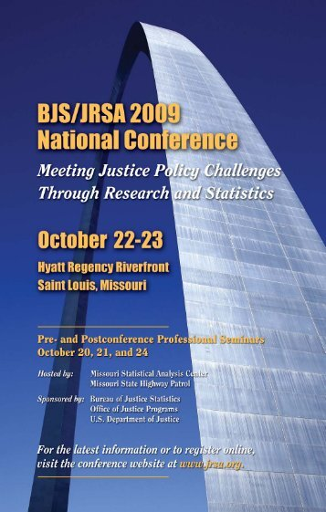 Untitled - Justice Research and Statistics Association