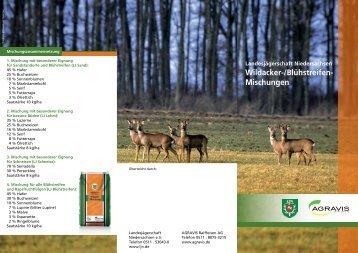 Infoblatt Wildacker - Jägerschaft Duderstadt eV