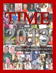 May/Senior Issue - Jersey Shore Area School District