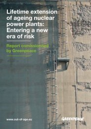 Rapport Lifetime extension of ageing nuclear power plants
