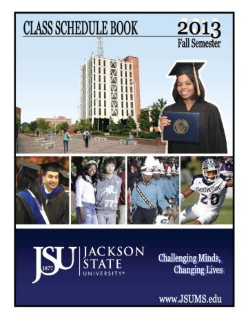 2013 Fall Cover - Jackson State University