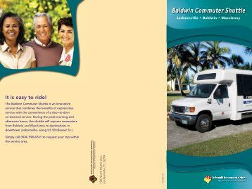 Baldwin Commuter Shuttle brochure