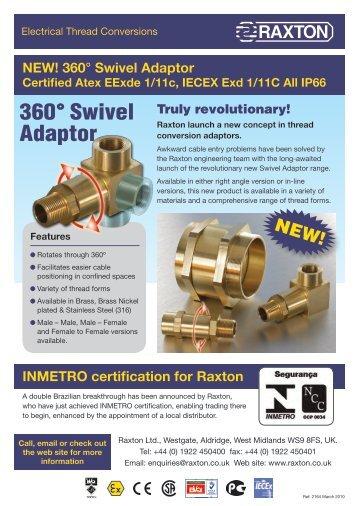 360° Swivel Adaptor - JT Day Pty Ltd