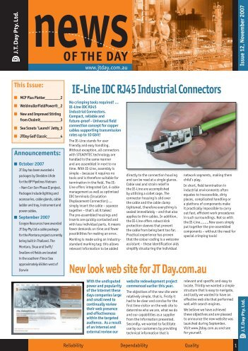 OF THE DAY - JT Day Pty Ltd