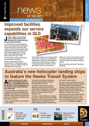 Newsletter Issue 22 - April 2013