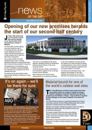 Newsletter Issue 19 - February 2012