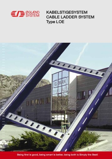 LOE Cable Ladder - JT Day Pty Ltd