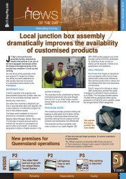 Newsletter Issue 21 - JT Day Pty Ltd