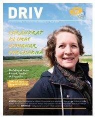 Driv Nr 1 2013 - Ett magasin från JTI - Institutet för jordbruks- och ...