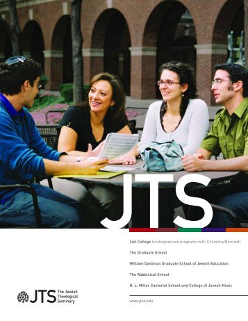 undergraduate programs with Columbia/Barnard - The Jewish ...