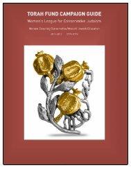 torah fund - The Jewish Theological Seminary