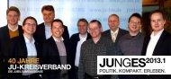 JUNGES2013.1 40 JahrE JU-krEiSvErband - Junge Union ...
