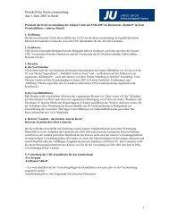 Protokoll der Kreisversammlung Am 3. Juni 2007 in Soest