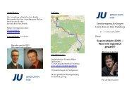 Einladung Seminartagung 2008 1 - Junge Union, Kreisverband Soest