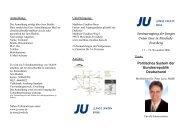 Einladung zur Seminartagung - Junge Union, Kreisverband Soest
