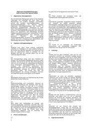 Allgemeine Geschäftsbedingungen Dietz & Fackler EDV Systeme ...