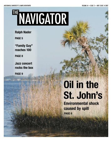 Jacksonville university's campus newspaper