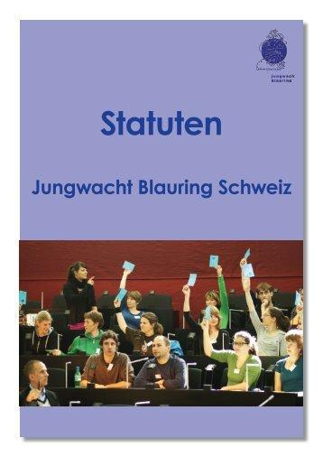 Statuten - Jungwacht Blauring Schweiz