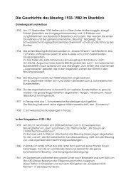 Geschichte Blauring - Jungwacht Blauring Schweiz