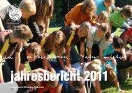 jahresbericht 2011 - Jungwacht Blauring Schweiz