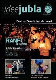 Deine Dosis im Advent - Jungwacht Blauring Schweiz