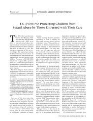 F.S. §39.0139: Protecting Children from Sexual Abuse by Those ...