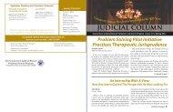 Spring 2011 - Connecticut Judicial Branch - CT.gov