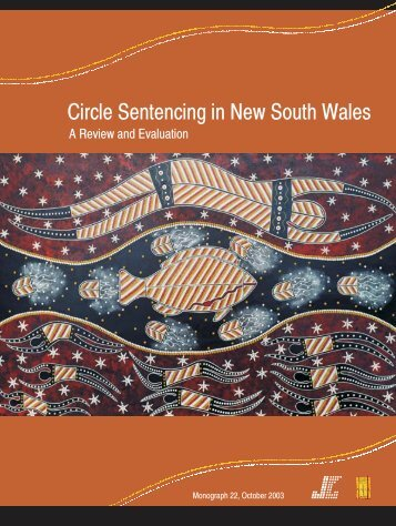 Circle Sentencing in New South Wales - Judicial Commission of ...